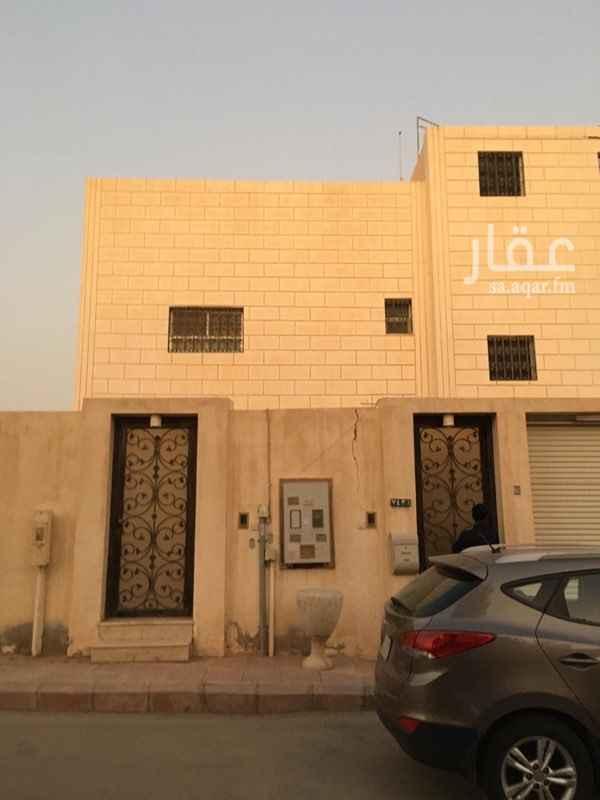 دور للإيجار في شارع عبدالله الاسدي ، حي المغرزات ، الرياض
