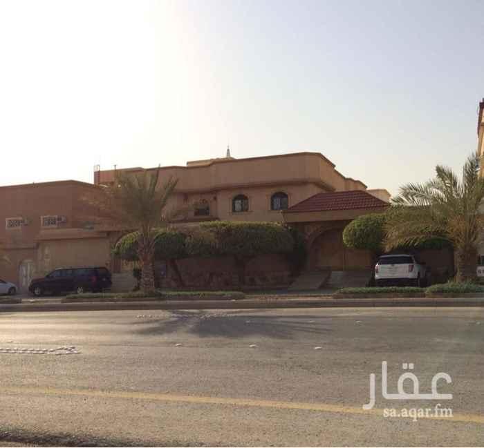 فيلا للبيع في شارع عبدالعزيز بن محمد بن شلوان ، حي عكاظ ، الرياض ، الرياض