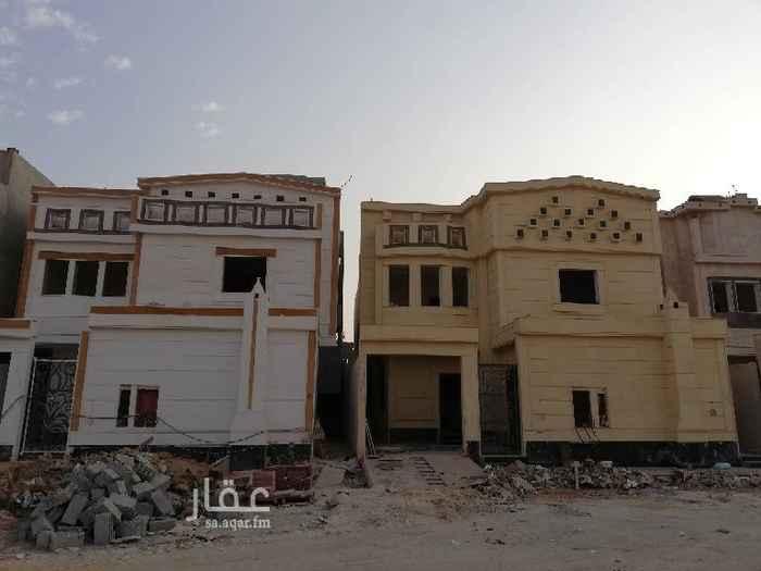 فيلا للبيع في شارع المحايدة ، حي الحزم ، الرياض