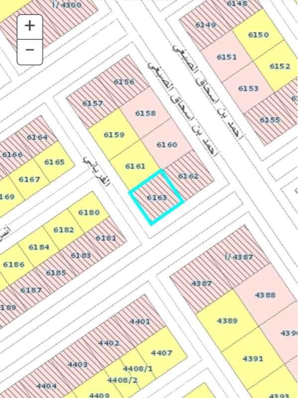 أرض للبيع في شارع يحيى بن خالد البرمكي ، حي المهدية ، الرياض ، الرياض