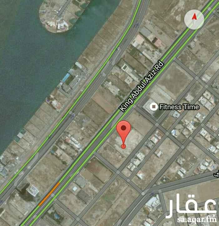 أرض للبيع في شارع أم المؤمنين ميمونة ، حي ابحر الجنوبية ، جدة