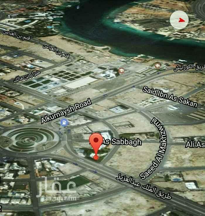 أرض للبيع في طريق الملك عبدالعزيز ، حي أبحر الجنوبية ، جدة