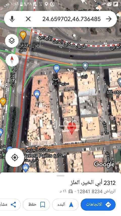 مستودع للإيجار في شارع أبي الخير ، حي الملز ، الرياض ، الرياض