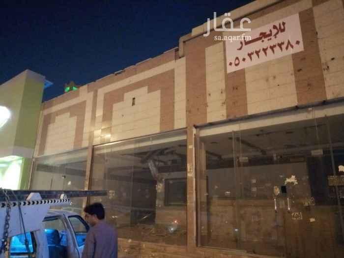 محل للإيجار في شارع وادي رماة ، حي شبرا ، الرياض