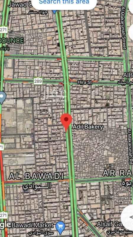 أرض للبيع في طريق الملك فهد ، حي البوادي ، جدة ، جدة