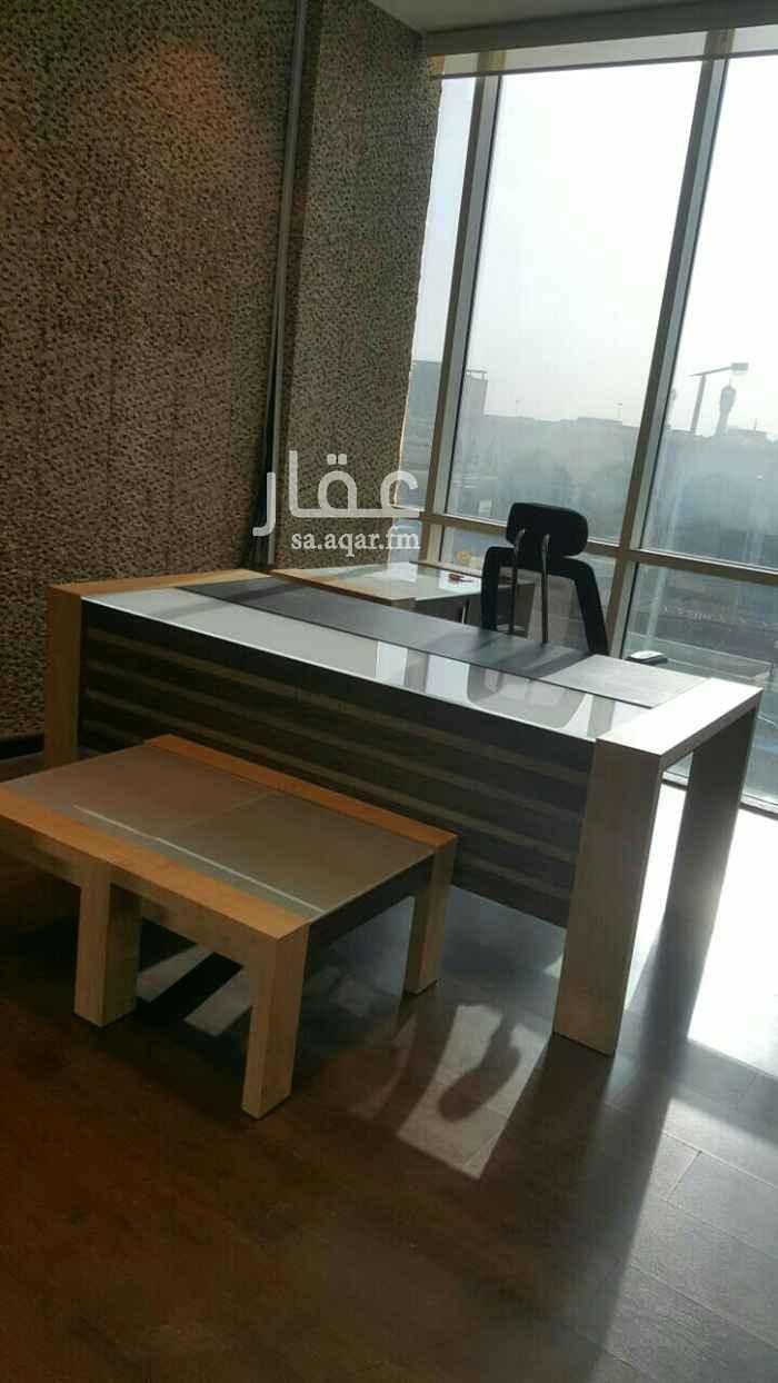 مكتب تجاري للإيجار في شارع العليا ، حي الملك فهد ، الرياض ، الرياض