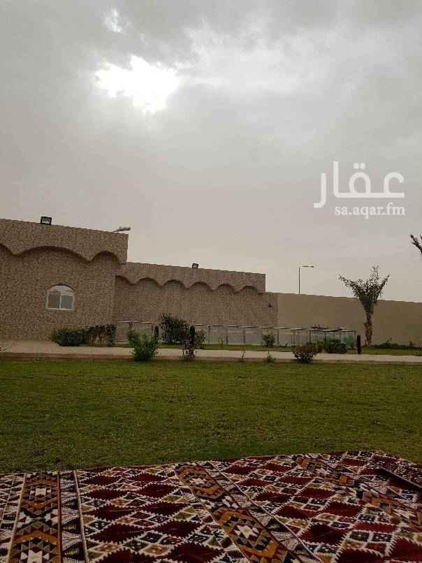 استراحة للإيجار في طريق خزام ، الرياض