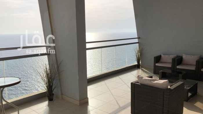 شقة للإيجار في طريق الكورنيش ، حي الشاطئ ، جدة ، جدة