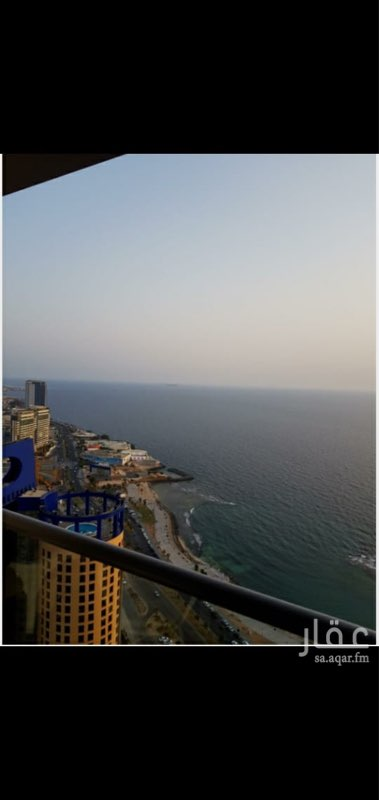 شقة للإيجار في شاطئ الواجهة البحرية ٢ ، طريق الكورنيش ، حي الشاطئ ، جدة ، جدة