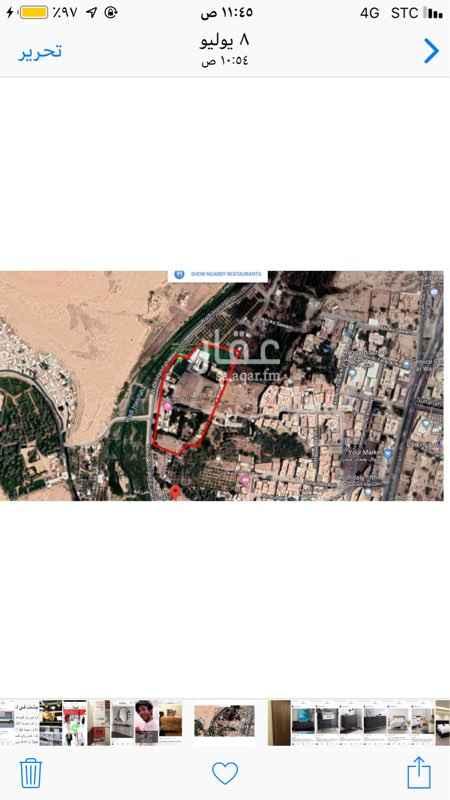 أرض للإيجار في شارع وادي حنيفة ، حي البديعة ، الرياض