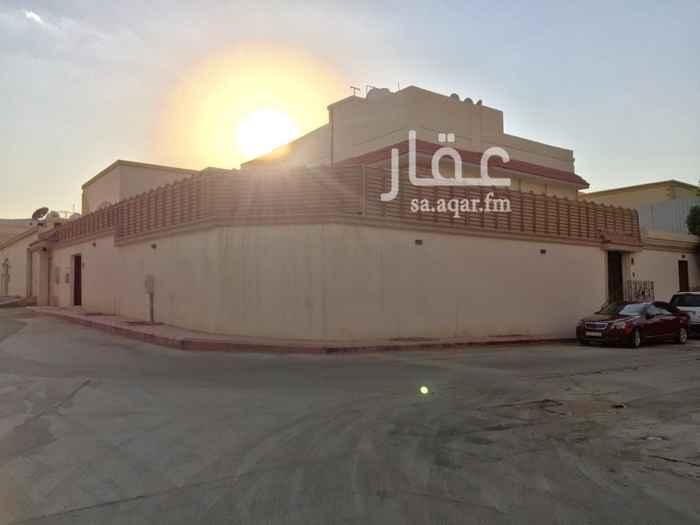 فيلا للإيجار في شارع ابي منصور النصولي ، حي الورود ، الرياض