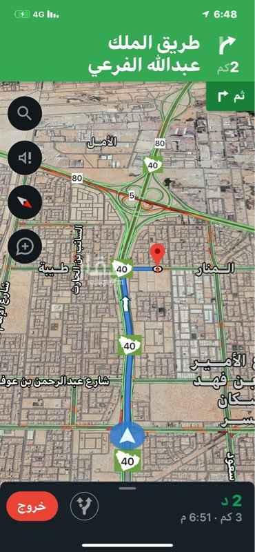 أرض للبيع في شارع ابو عبيدة عامر بن الجراح ، حي المنار ، الدمام ، الدمام