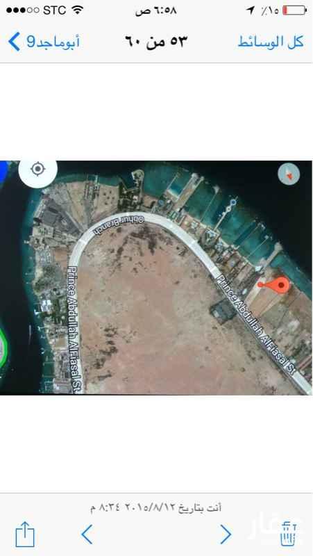 أرض للبيع في شارع الأمير عبدالله الفيصل, حي ابحر الشمالية, جدة