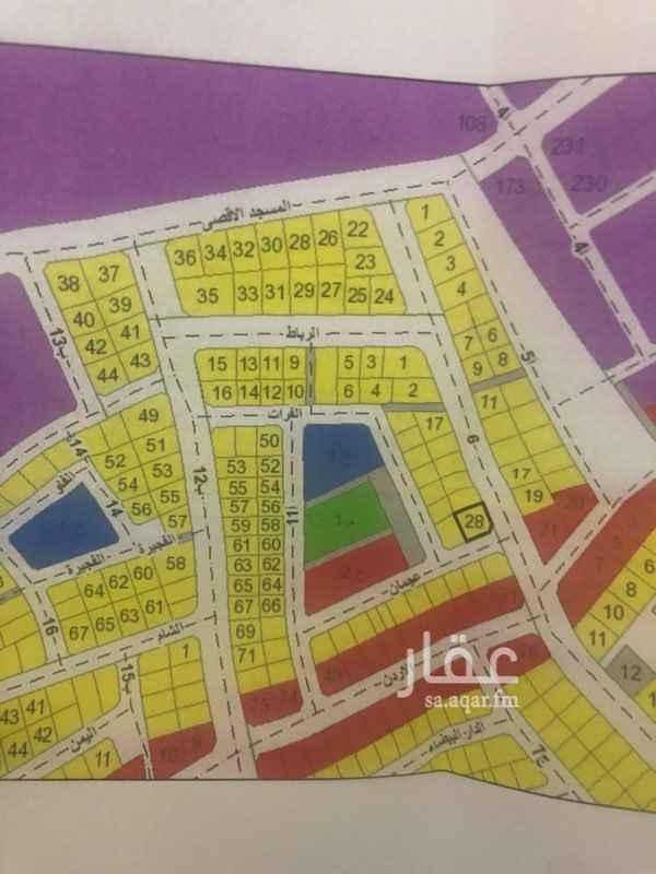 أرض للبيع في شارع الفرات ، حي الفيحاء ، الدمام ، الدمام