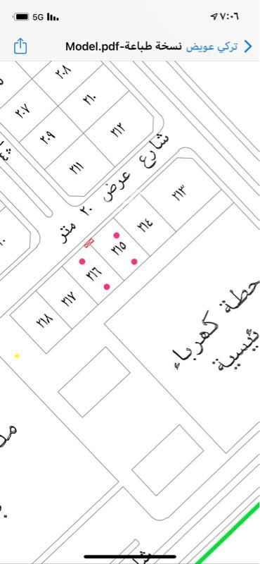 أرض للبيع في شارع عثمان بن عفان ، قرية العليا ، العليا