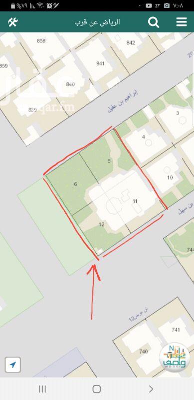 أرض للبيع في شارع محمد الباهلي ، حي الروضة ، الرياض