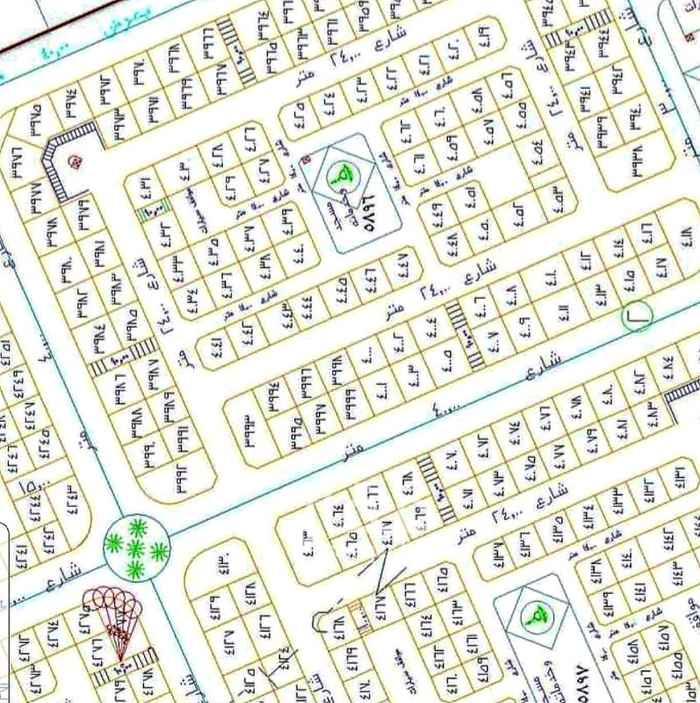 أرض للبيع في شارع سليم بن جابر ، حي الملك فهد ، المدينة المنورة
