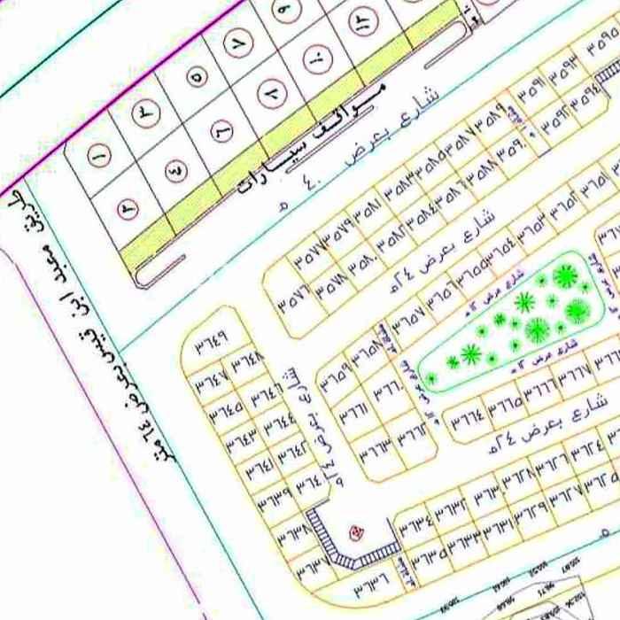 أرض للبيع في شارع سراقه بن عمرو بن لبنه ، حي الملك فهد ، المدينة المنورة ، المدينة المنورة