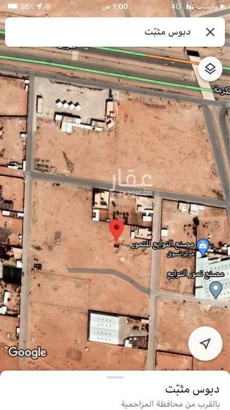 أرض للإيجار في محافظة المزاحمية ، المزاحمية