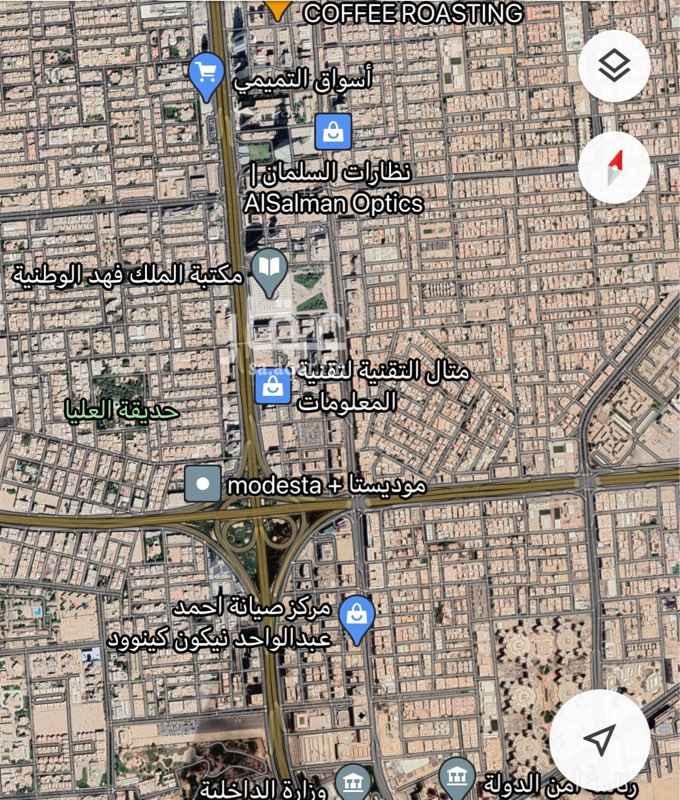 أرض للبيع في 2238-2230 ، طريق الملك فهد ، حي العليا ، الرياض ، الرياض