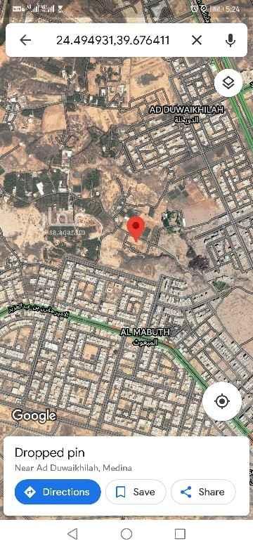 أرض للبيع في شارع عبدالله بن الفضل ، حي الدويخلة ، المدينة المنورة ، المدينة المنورة
