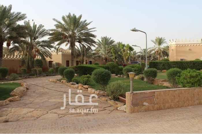 استراحة للبيع في شارع حميد الرواسي ، حي الرمال ، الرياض