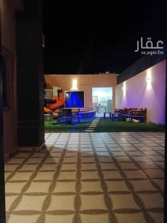 استراحة للإيجار في شارع علي بن شيبان ، حي العوالي ، الرياض