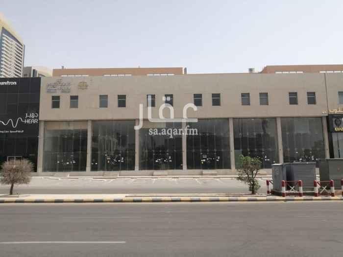 مكتب تجاري للإيجار في طريق العروبة ، حي الرحمانية ، الرياض ، الرياض