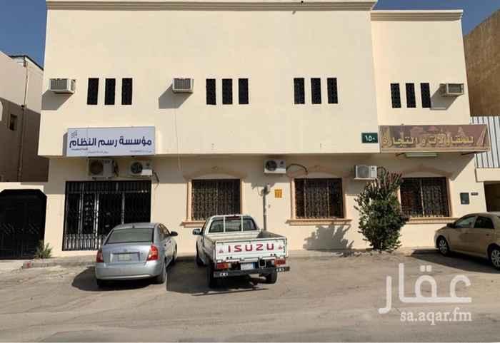 مكتب تجاري للإيجار في شارع الامام ابي حنيفة ، حي العريجاء الوسطى ، الرياض