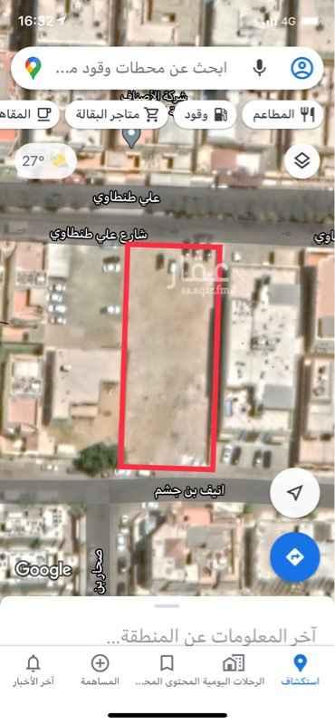 أرض للإيجار في شارع علي طنطاوي ، حي الزهراء ، جدة ، جدة