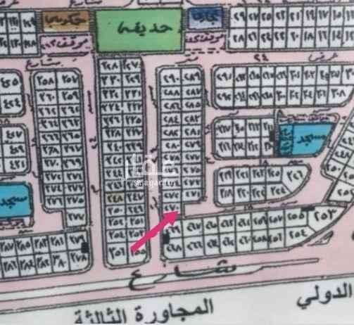 أرض للبيع في شارع 16 د ، حي الأمانة ، الدمام