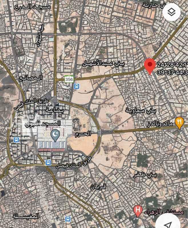أرض للبيع في شارع الارقم بن ابي الارقم ، حي بني معاوية ، المدينة المنورة ، المدينة المنورة