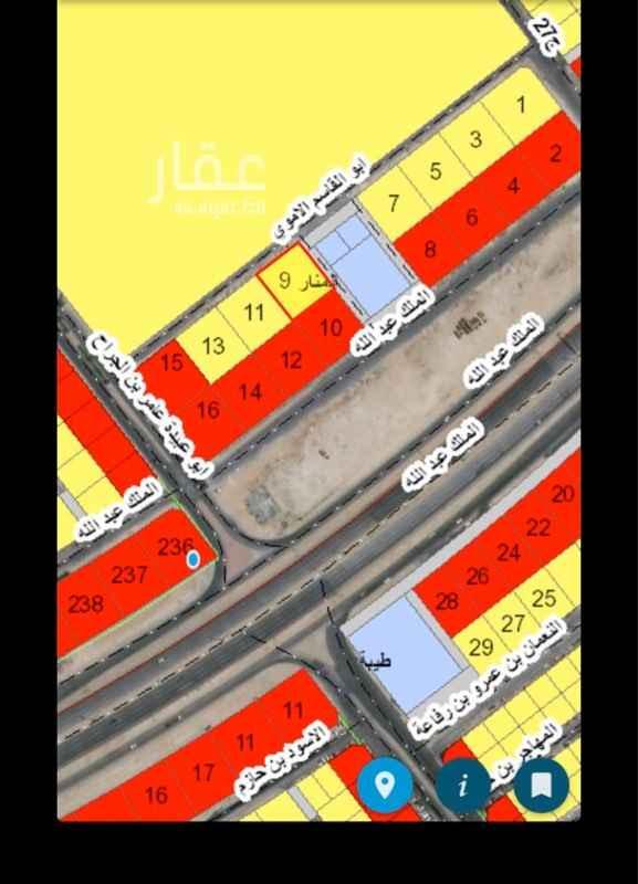 أرض للبيع في شارع عمرو بن زهير ، حي المنار ، الدمام