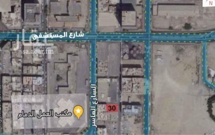 أرض للبيع في شارع حصين بن الحارث ، حي العدامة ، الدمام ، الدمام