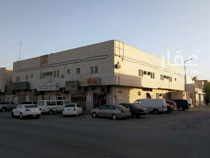 عمارة للإيجار في شارع الجبيل ، حي النهضة ، الرياض