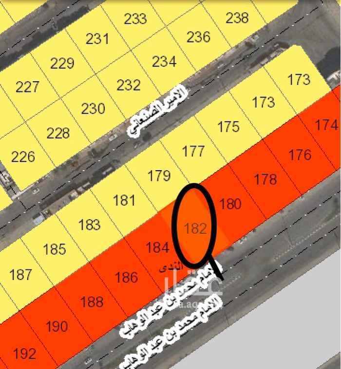 أرض للبيع في شارع الامام محمد بن عبد الوهاب ، حي الندى ، الدمام ، الدمام