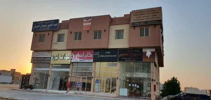 مكتب تجاري للإيجار في شارع العمارية ، حي القيروان ، الرياض ، الرياض