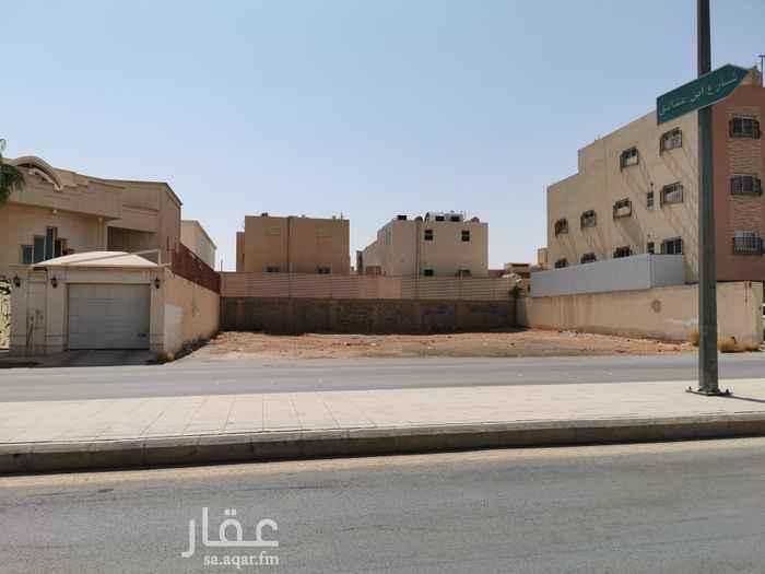أرض للبيع في شارع عبدالملك بن ابي سلمة ، حي المنار ، الرياض ، الرياض