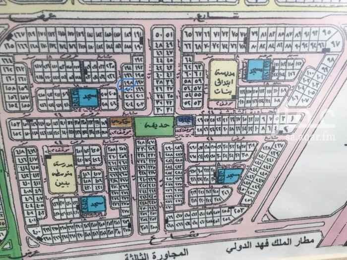أرض للبيع في شارع بثينة بنت الضحاك ، حي الأمانة ، الدمام ، الدمام