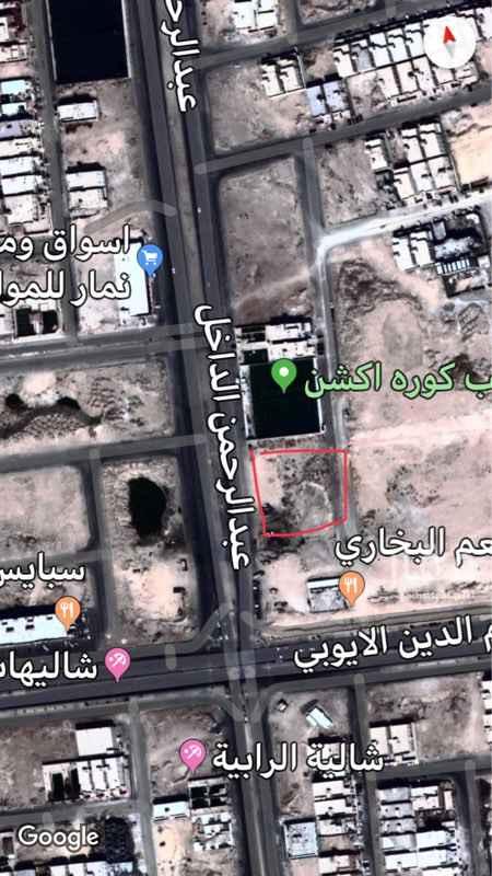 أرض للبيع في شارع عبدالرحمن الداخل ، الرياض