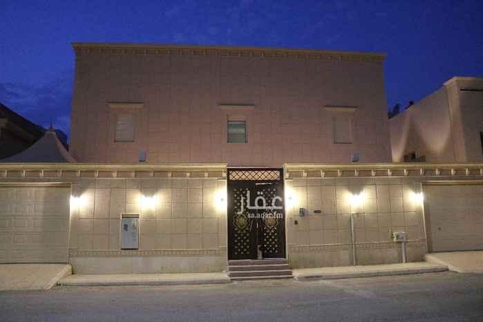 فيلا للإيجار في شارع انس ابن مالك ، حي الصحافة ، الرياض