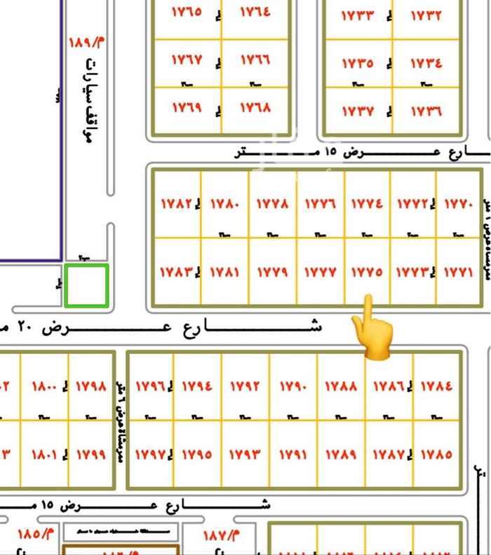 أرض للبيع في حي المستقبل ، المجمعة