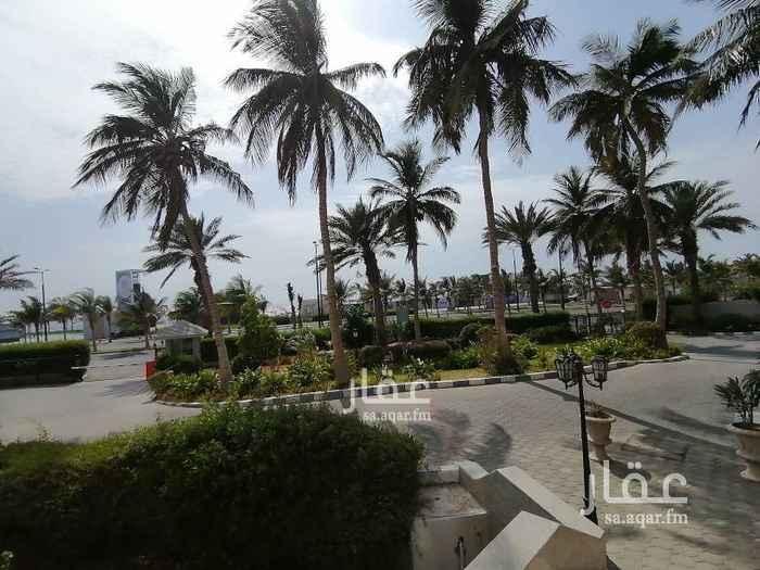 شقة للإيجار في أبراج لمار ، طريق الكورنيش ، حي الشاطئ ، جدة ، جدة