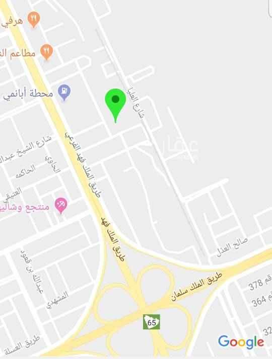 أرض للإيجار في حي العارض ، الرياض