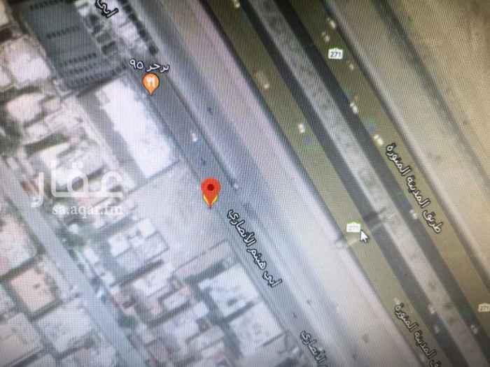 أرض للبيع في شارع أبي هيثم الأنصاري ، حي المحمدية ، جدة