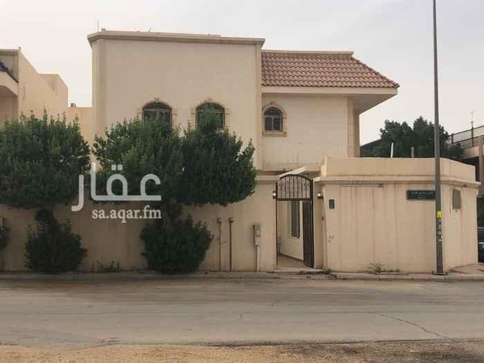 فيلا للإيجار في شارع الشرمة ، حي الروضة ، الرياض ، الرياض