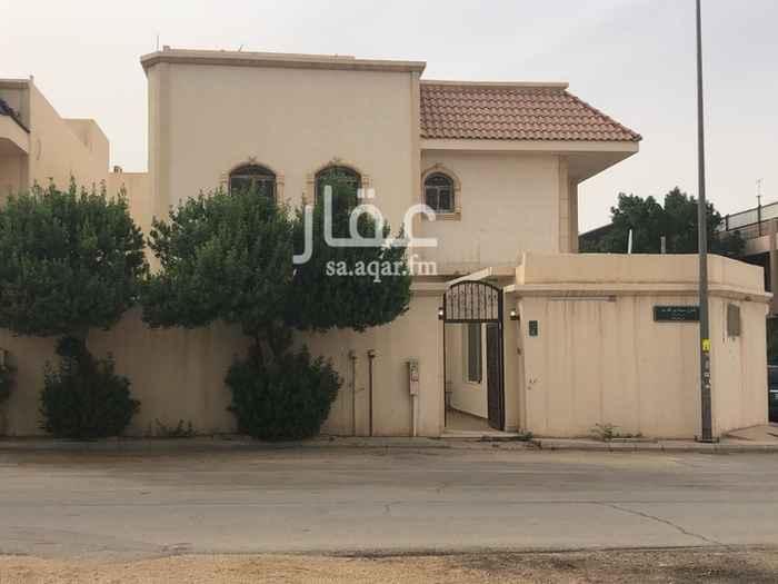 فيلا للإيجار في شارع سواد بن قارب ، حي الروضة ، الرياض ، الرياض