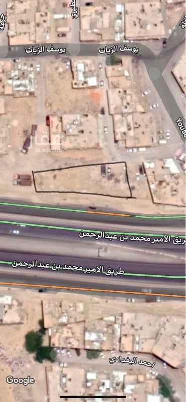 أرض للبيع في طريق الامير محمد بن عبدالرحمن الفرعي ، حي منفوحة الجديدة ، الرياض