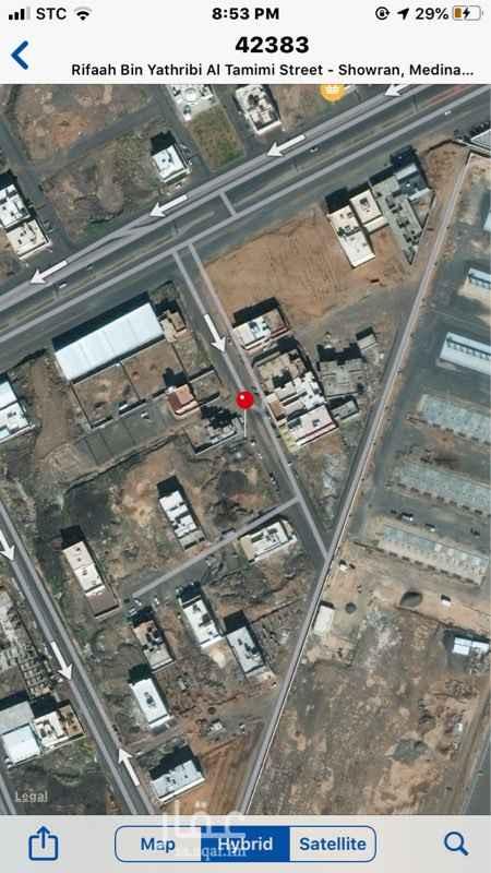 أرض للبيع في شارع بشير بن ابي زيد ، المدينة المنورة ، المدينة المنورة