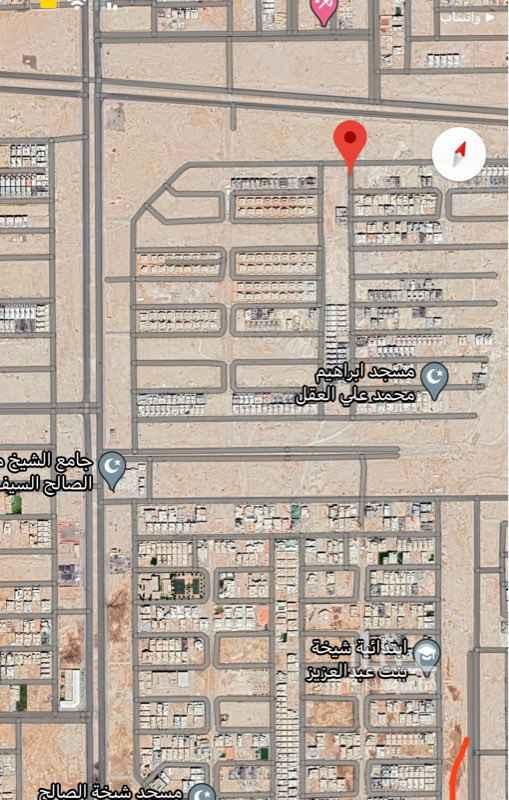 أرض للبيع في شارع البنيه ، حي النرجس ، الرياض